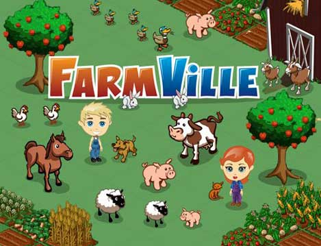 farmville - facebook game