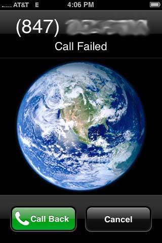 iphone call failed