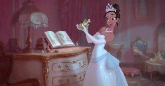 La Princesa y el Sapo title
