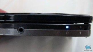 LEDs de estado y entrada de audífonos 3.5mm