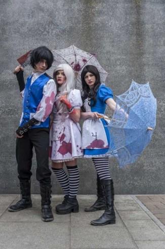Alister, Hysteria y Alice de Alice: Madness Returns
