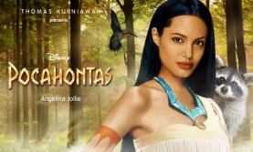 Angelina Jolie como Pcahontas