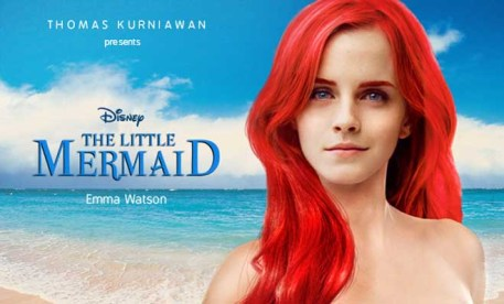 Emma Watson como Ariel