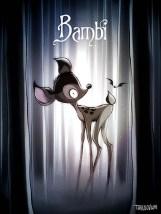 princesas-estilo-tim-burton-bambi