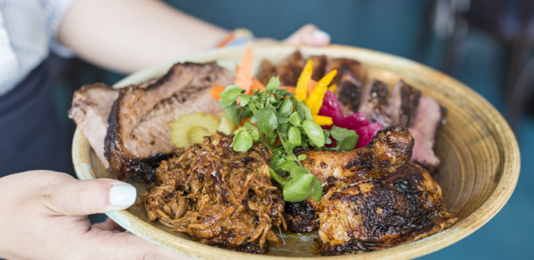 Cajun and Creole flavours Pit-Master's Pick at NOLA Smokehouse and Bar in Barangaroo