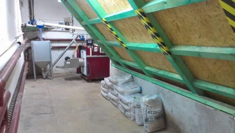 magazyn pelletu, zbiorniki na pellet, budowa silosów pelletowych, kontener na pellet