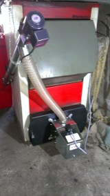 Palnik na pellet z automatycznym podajnikiem i rozpalaniem