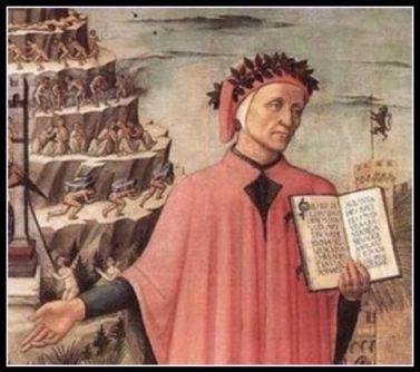 Dante consulta la guida della Garfagnana