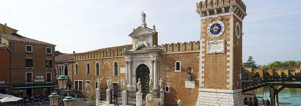 L'Arsenale di Venezia è parte dei siti patrimoni dell'UNESCO