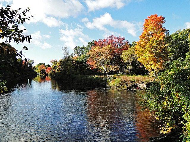 Il New England è il posto perfetto a ottobre per gli amanti dell'autunno