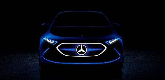 Salone di Francoforte 2017: Mercedes EQ A