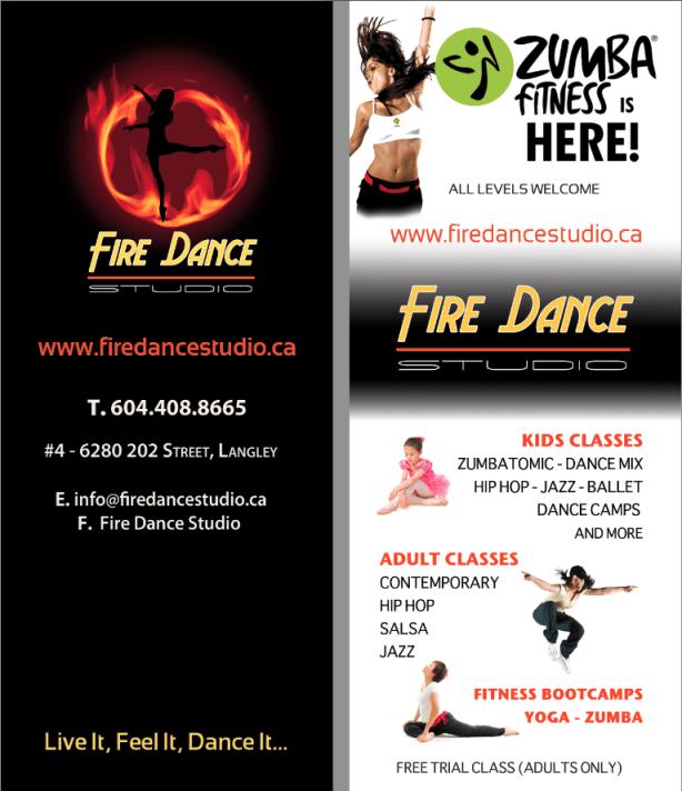 flier fire dance