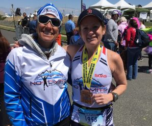 Courtney achieves a lifetime goal to finish a marathon. We have a feeling it's not her last.