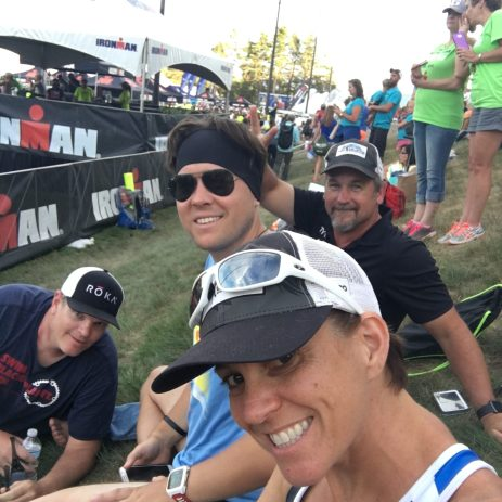 Some of the No Limits Crew Spectating & Cheering at the 2015 IMLP.