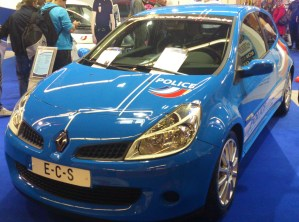 Renault Clio RS - ECS - Police nationale