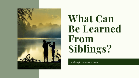 What Can Be Learned From Siblings?