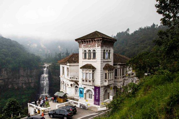 Salto del Tequendama, colombia, nomadarte, vanlife