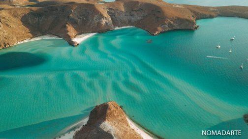 playa-balandra-desde-arriba-6 baja california sur playas de mexico