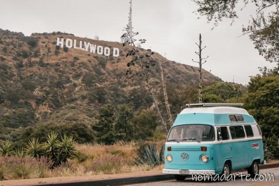 Hollywood, nomadarte, vanlife