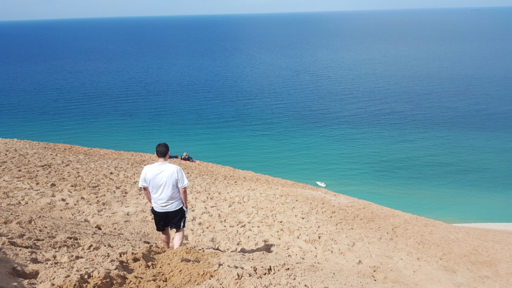 Sleeping Bear Dunes National Lakeshore beach in MIchigan