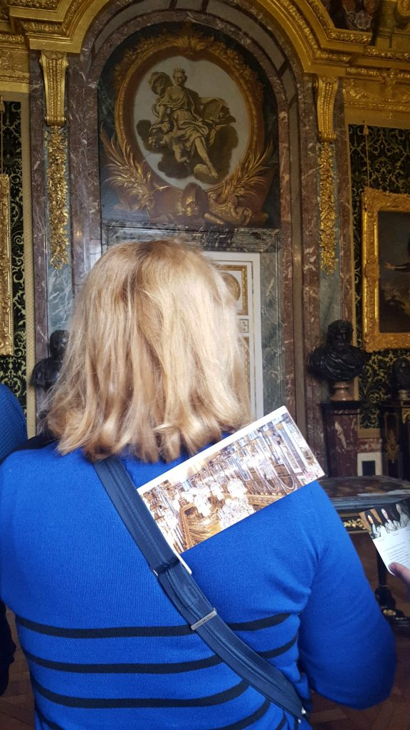 Visiting Versailles in winter