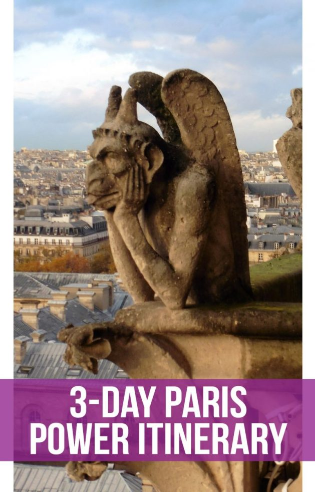 See the best of Paris, France in just three days in this fast-paced itinerary. Includes: the Eiffel Tower, Notre Dame, Versailles, the Louvre, Musee d'Orsay, Sainte Chappelle, the Pantheon, and a Seine River cruise. #Paris | #France | #EiffelTower | #NotreDame | #Louvre