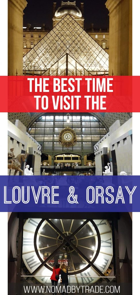 Skip the crowds at the Louvre and Orsay museums in Paris, France with this tip. #Paris | #France | #Louvre