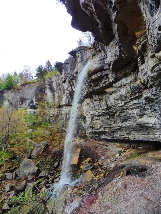 Outlet Falls in Thacher State Park