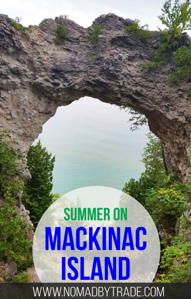 Bike riding, fudge sampling, and visiting a historic fort will keep you busy on a summer day on Mackinac Island in Michigan's Lake Huron.
