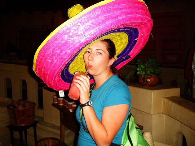Margarita inside of Epcot's Mexico pavilion