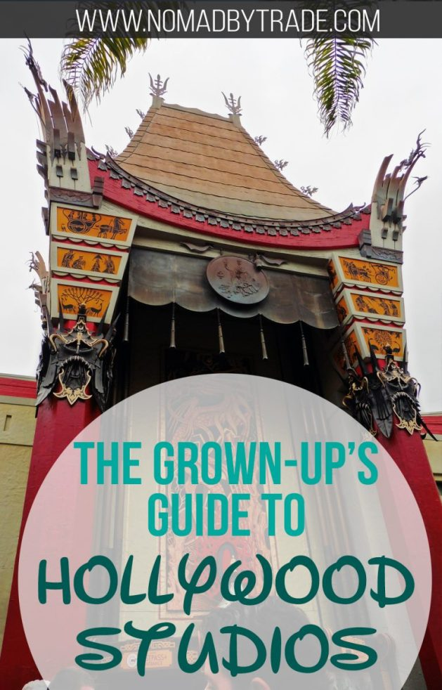 Top tips, tricks, and advice for visiting Hollywood Studios as an adult. Disney World | Disney without kids | Disney World for grown-ups