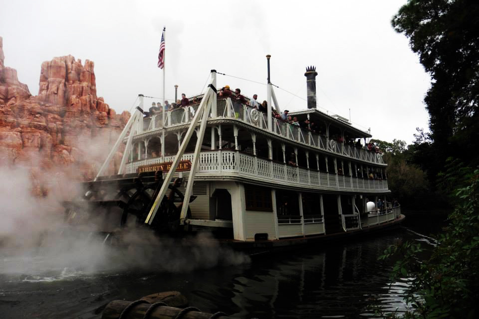 Liberty Belle Riverboat at the Magic Kingdom