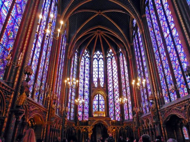 Sainte Chappelle in Paris France