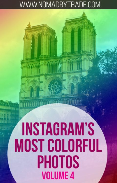 Instagram's most colorful travel photography.