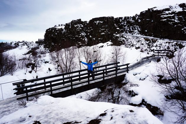 Þingvellir National Park - Iceland's Golden Circle in winter