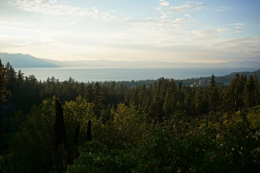 View of lake Tahoe from Van Sickle Bi-State Park