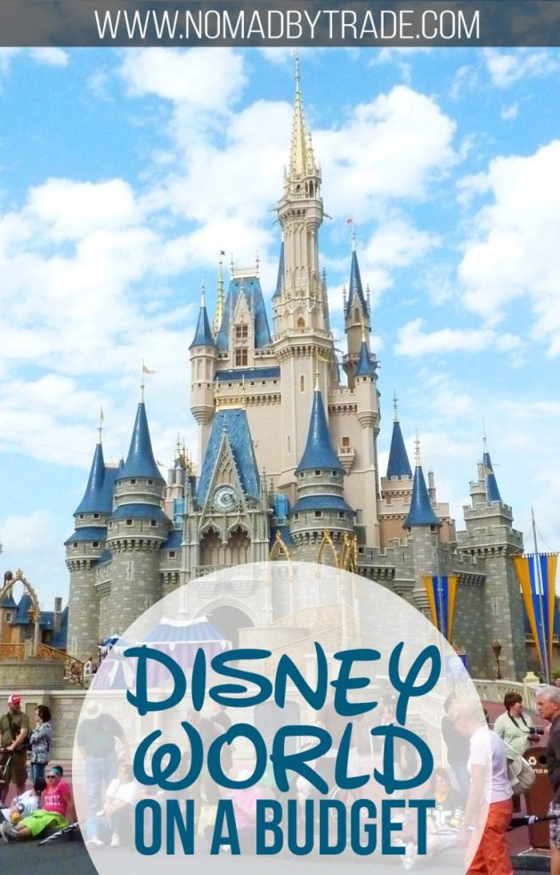 Save money at Disney World with these tips. | #DisneyWorld | #DisneyBudgetTips | #DisneyWorldTips | Budget tips for Disney World
