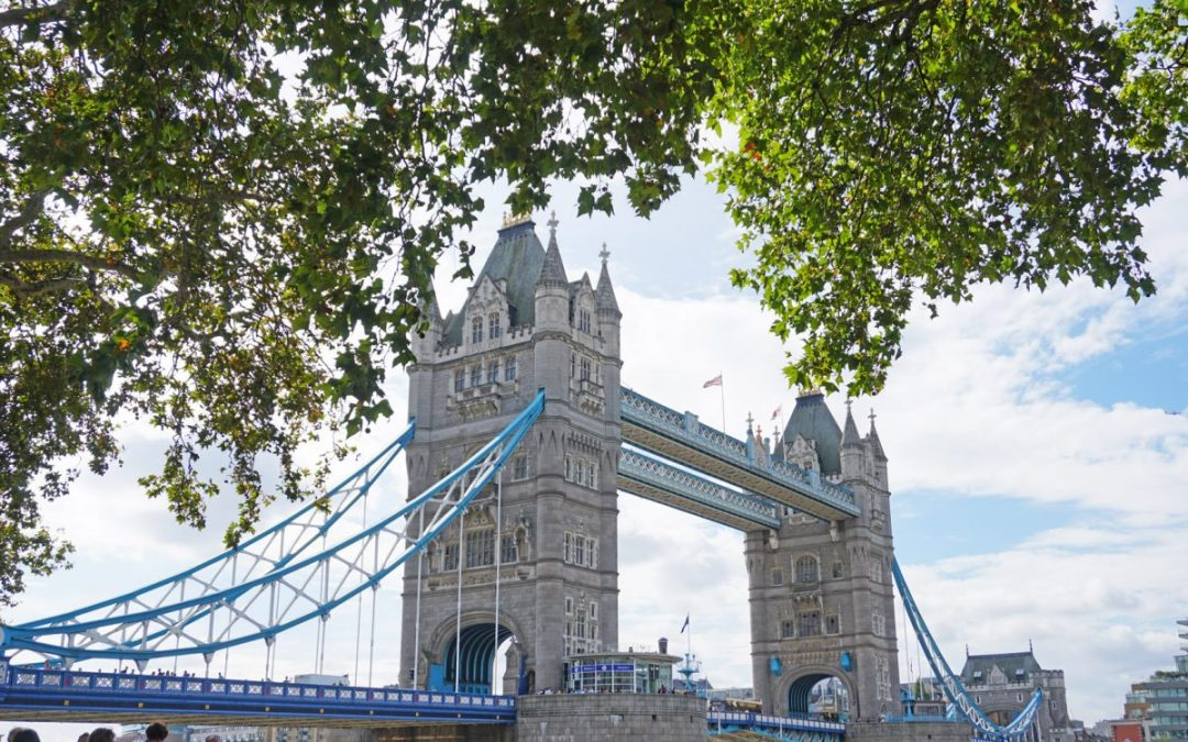 London's Tower Bridge, part of a fast-paced 3 days in London itinerary