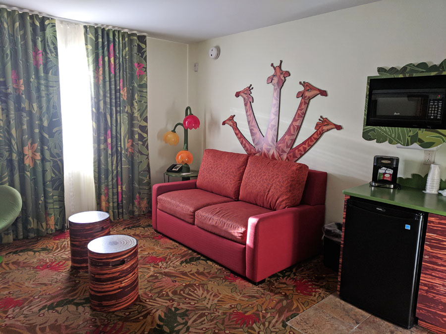 Disney's Art of Animation Rooms: Lion King Family Suite vs. Little Mermaid Room