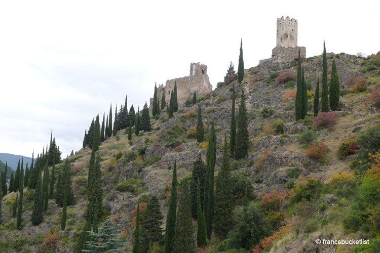 Historic buildings in the Cathar County