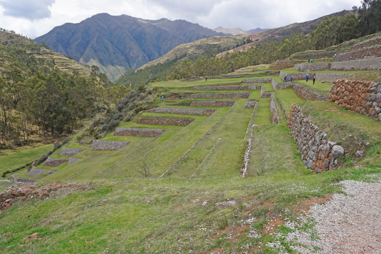 Incan terraces at Chinchero