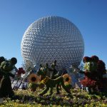 Spaceship Earth - Epcot International Flower and Garden Festival