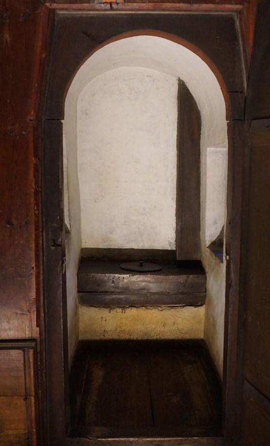 Prince's bathroom at Hohensalzburg Fort