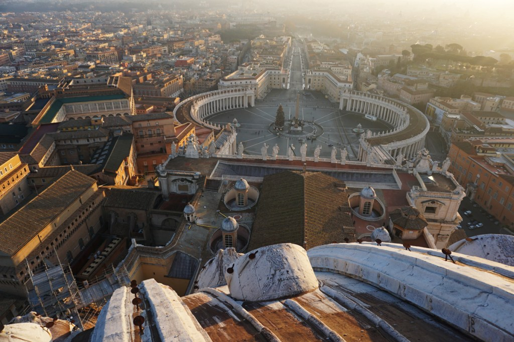 View from the top of St. Peter's Basilica