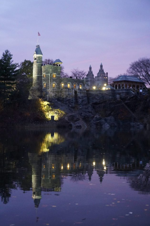 Belvedere Castle in NYC