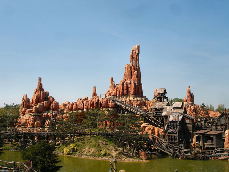 Big Thunder Mountain - possibly the best Disneyland Paris ride