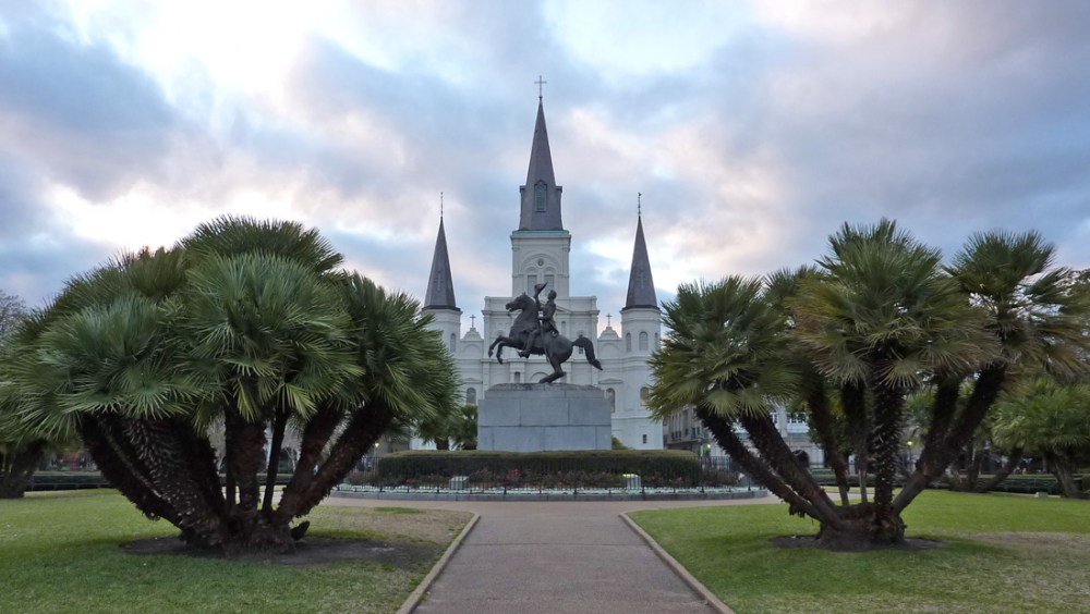 Jackson Square in New Orleans' French Quarter