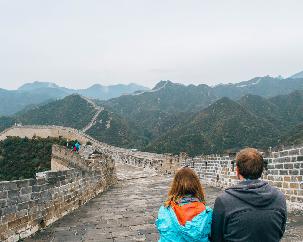Exploring the Great Wall of China together