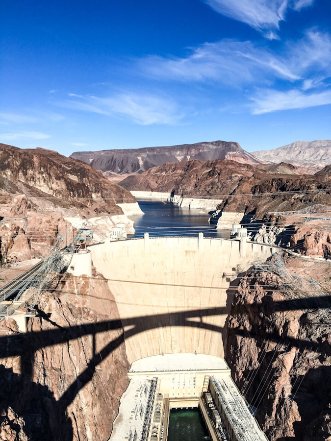Photo of the Hoover Dam