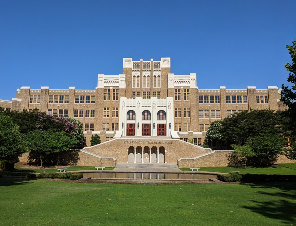 Little Rock Central High School National Historic Site is one of the top tourist attractions in Little Rock, Arkansas.